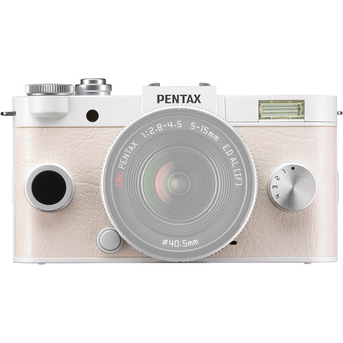 Pentax Q-S1 Mirrorless Digital Camera (Body Only, Pure White)