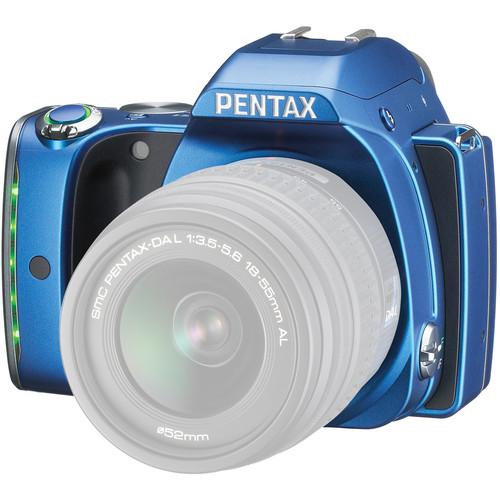 Pentax K-S1 DSLR Camera (Body Only, Blue)