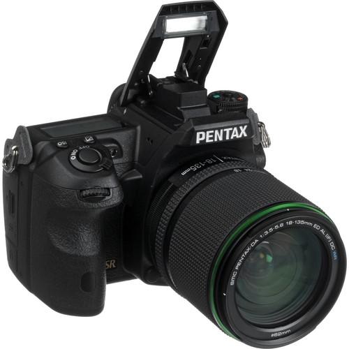 Pentax K-3 DSLR Camera with 18-135mm Lens
