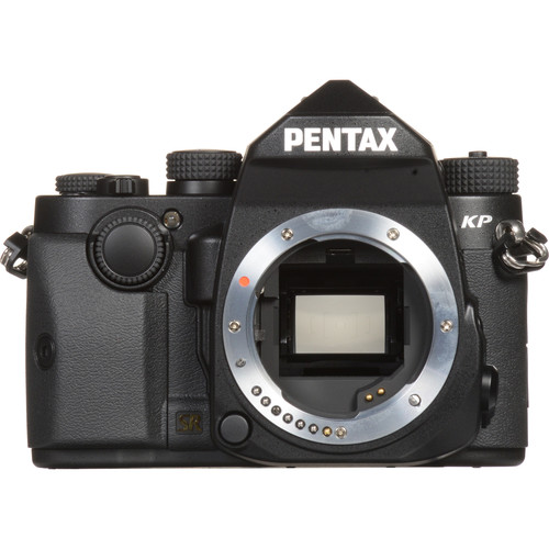 Pentax KP DSLR Camera (Body Only, Black)