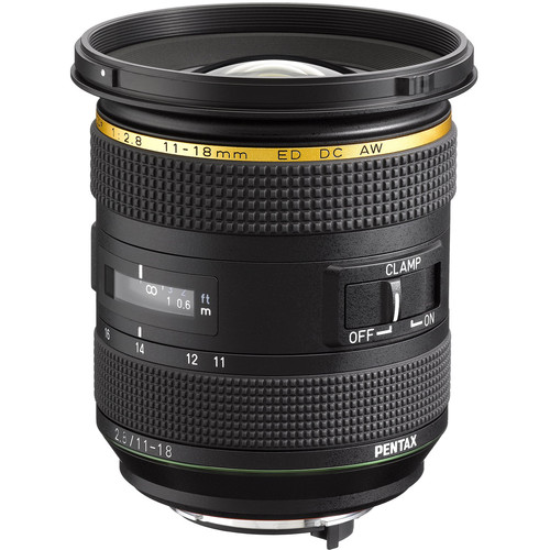 Pentax HD Pentax DA* 11-18mm f/2.8 ED DC AW Lens