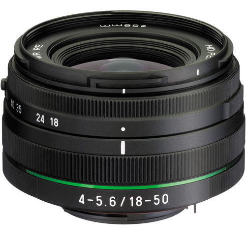 Pentax HD PENTAX DA 18-50mm f/4.0-5.6 DC WR RE Lens