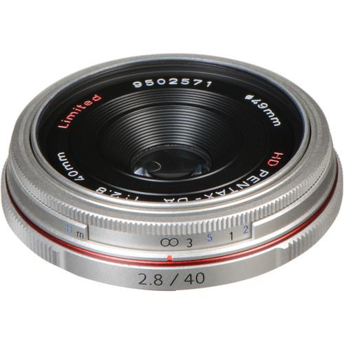 Pentax HD Pentax DA 40mm f/2.8 Limited Lens (Silver)