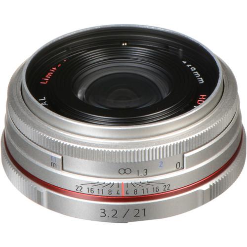 Pentax HD Pentax DA 21mm f/3.2 AL Limited Lens (Silver)