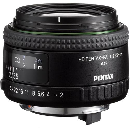 Pentax HD Pentax-FA 35mm f/2 Lens