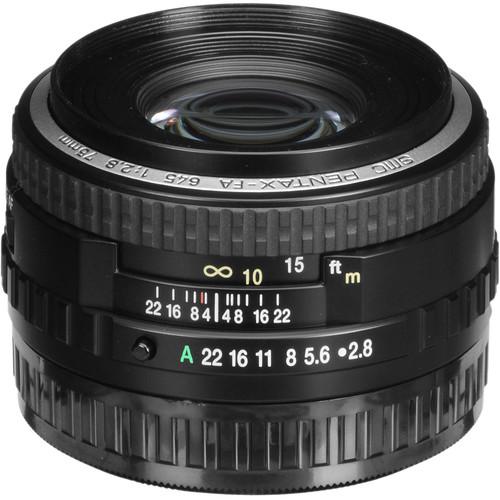 Pentax smc FA 75mm f/2.8 Lens