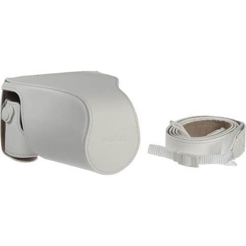 Pentax O-CC1512 Camera Case for Q-S1 Mirrorless Cameras (Cream)