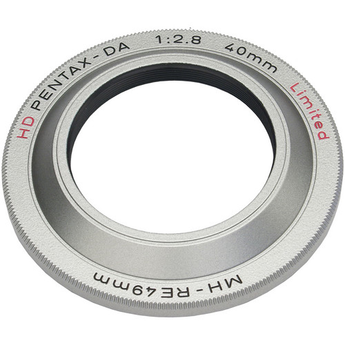 Pentax MH-RE49 Lens Hood for HD DA 40mm f/2.8 Limited (Silver)