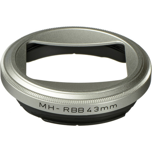 Pentax MH-RBB43 Lens Hood for HD DA 21mm f/3.2 AL Limited (Silver)