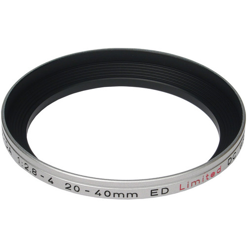 Pentax MH-RA 55mm Lens Hood for HD DA 20-40mm f/2.8-4 ED Limited DC WR (Silver)