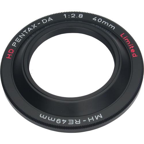 Pentax MH-RE49 Lens Hood for HD DA 40mm f/2.8 Limited (Black)