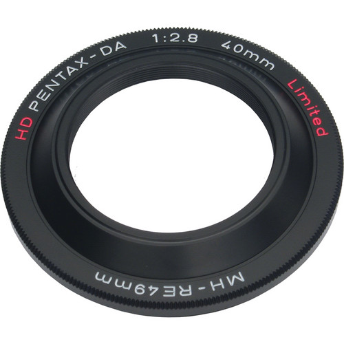 Pentax MH-RE49 Lens Hood (Black)