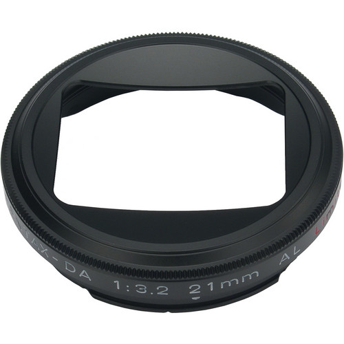 Pentax MH-RBB43 Lens Hood for HD DA 21mm f/3.2 AL Limited (Black)