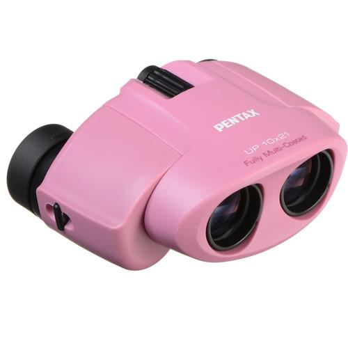 Pentax 10x21 U-Series UP Binoculars (Pink)