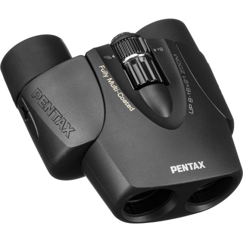 Pentax 8-16x21 U-Series UP Binocular (Black)