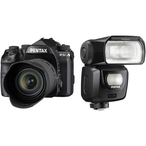 Pentax K-1 Mark II DSLR Camera with 28-105mm Lens and AF540FGZ II Flash Kit