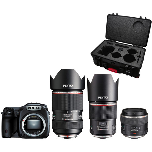 Pentax 645Z Medium Format DSLR Comprehensive Starter Kit
