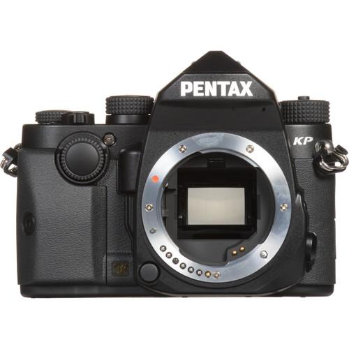Pentax KP DSLR Camera with 40mm Lens Kit (Black)