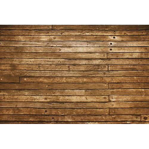 PepperLu Weathered Planks Floor Mat