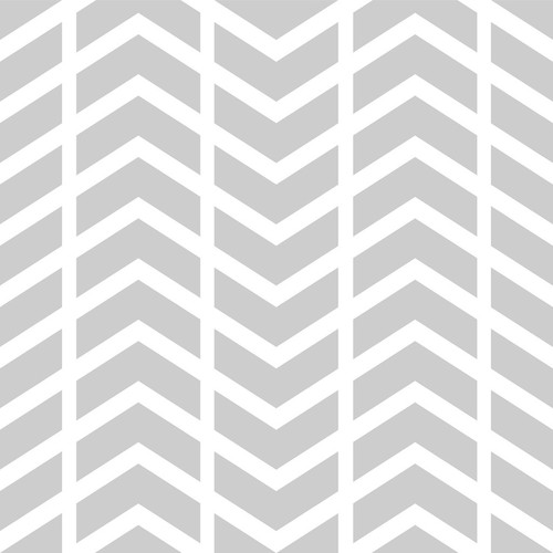 PepperLu PolyPaper Photo Backdrop (5 x 5', Split Chevron Pattern, Light Gray)