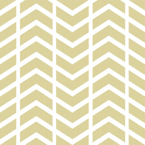 PepperLu PolyPaper Photo Backdrop (5 x 5', Split Chevron Pattern, Sand)