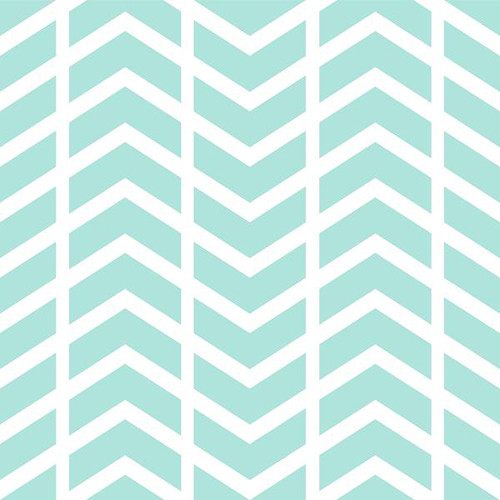 PepperLu PolyPaper Photo Backdrop (5 x 7', Split Chevron Pattern, Aqua)