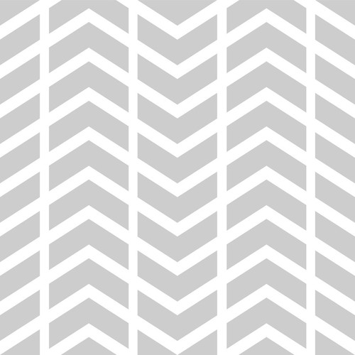 PepperLu PolyPaper Photo Backdrop (5 x 7', Split Chevron Pattern, Light Gray)