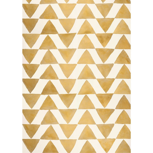 PepperLu PolyPaper Photo Backdrop (5 x 6', Golden Triangles Pattern)