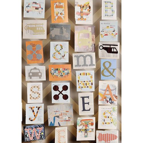 PepperLu PolyPaper Photo Backdrop (5 x 7', Trucks & Letters Pattern)