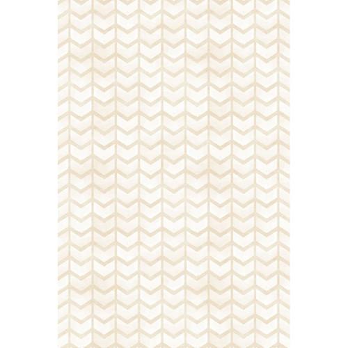 PepperLu PolyPaper Photo Backdrop (5 x 6', White Arrows Pattern)