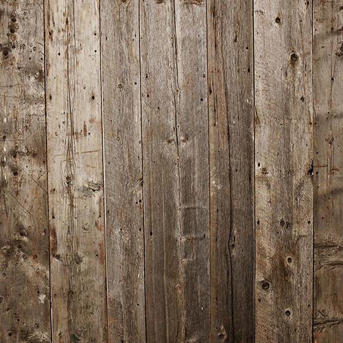 PepperLu PolyPaper Photo Backdrop (5 x 5', Maine Barn Board Pattern)