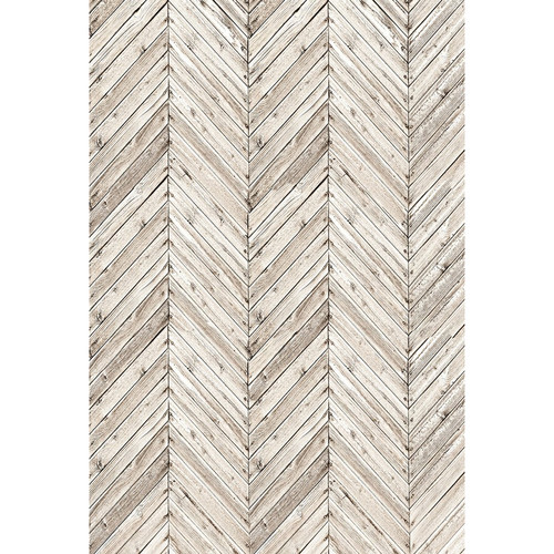 PepperLu PolyPaper Photo Backdrop (5 x 7', Urban Herringbone Pattern)