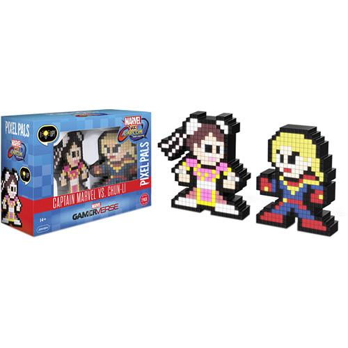 Performance Designed Products Pixel Pals Captain Marvel vs. Chun-Li (Marvel vs. Capcom)