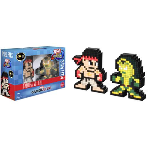 Performance Designed Products Pixel Pals Gamora vs. Ryu (Marvel vs. Capcom)