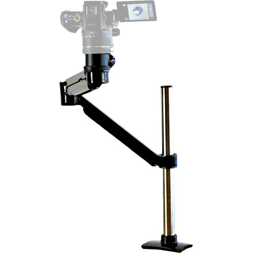 """Peripheral Logix PhotoExtend Articulating Camera Arm (25"""" Extension, 16"""" Height, Black)"""