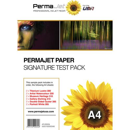 PermaJetUSA Signature Test Paper Pack (A4)