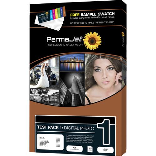 PermaJetUSA Digital Photo Paper Test Pack (A4, 30 Sheets)
