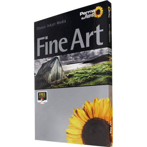 PermaJetUSA Smooth Art Silk 300 Fine Art Paper (A3+, 25 Sheets)