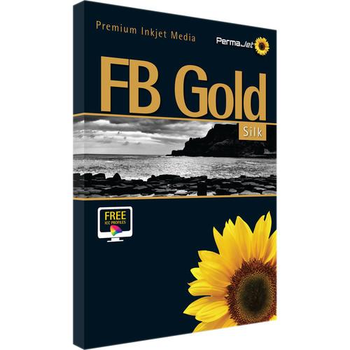 PermaJetUSA FB Gold Silk 315 Baryta Paper (A3+, 25 Sheets)