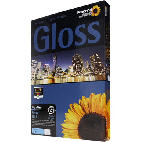 PermaJetUSA Gloss 271 Digital Photo Paper (A4, 100 Sheets)