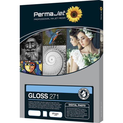 PermaJetUSA Gloss 271 Digital Photo Paper (A3, 50 Sheets)