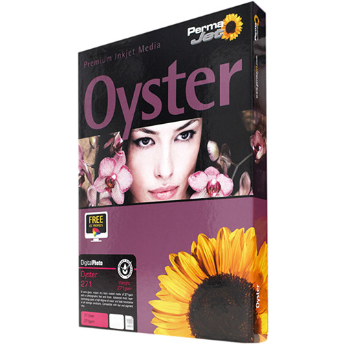 PermaJetUSA Oyster 271 Digital Photo Paper (A4, 50 Sheets)