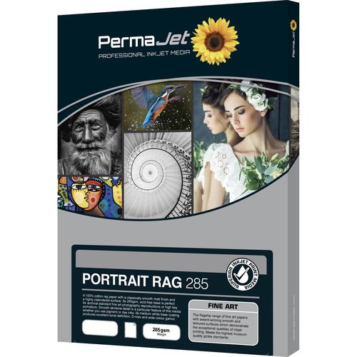 PermaJetUSA Portrait Rag 285 Smooth Fine Art Paper (A3, 25 Sheets)