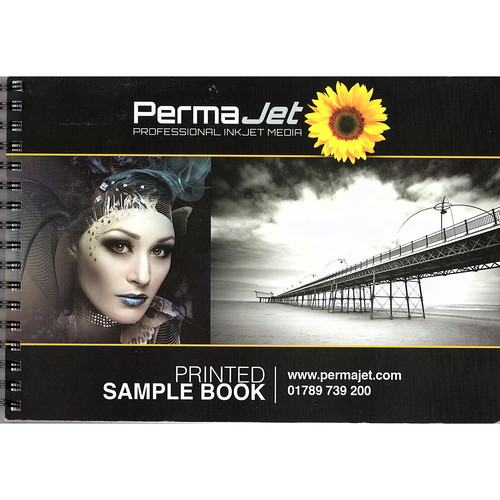 PermaJetUSA A7 Unprinted Paper and Canvas Swatch Book