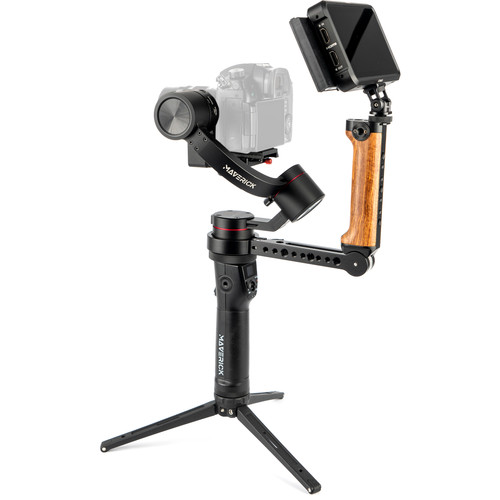 PFY Maverick 3-Axis Handheld Gimbal Stabilizer Advanced Kit with Middle Handgrip