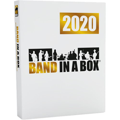 PG Music Band-In-A-Box 2020 Megapak (PC Download)
