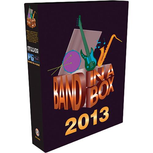 PG Music Band-in-a-Box 2013 for Mac (UltraPlusPAK Edition)