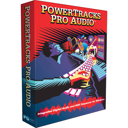 PG Music PowerTracks Pro Audio Multi-Track Sequencer PowerPak 2013