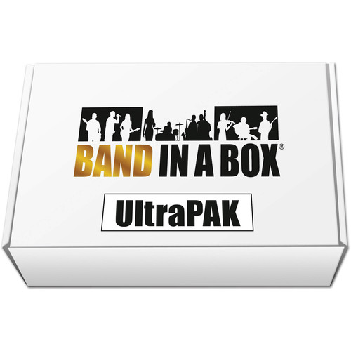 PG Music Band-in-a-Box 2018 UltraPAK - Backing Band / Accompaniment Software (Mac, Download)