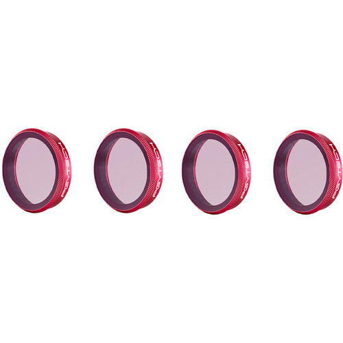 PGYTECH Pro ND Lens Filter Kit for Osmo Action (ND8/16/32/64)